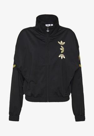 LOGO - Training jacket - black/gold