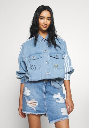DENIM JACKET - Denim jacket - clear sky
