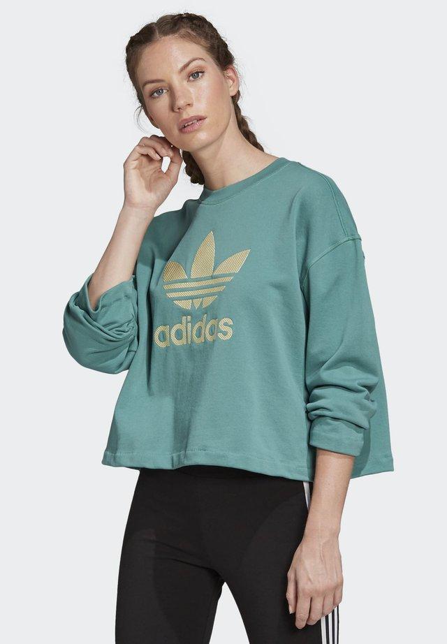 PREMIUM CREW SWEATSHIRT - Sweater - turquoise