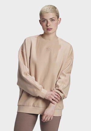 CREW SWEATSHIRT - Sweter - beige