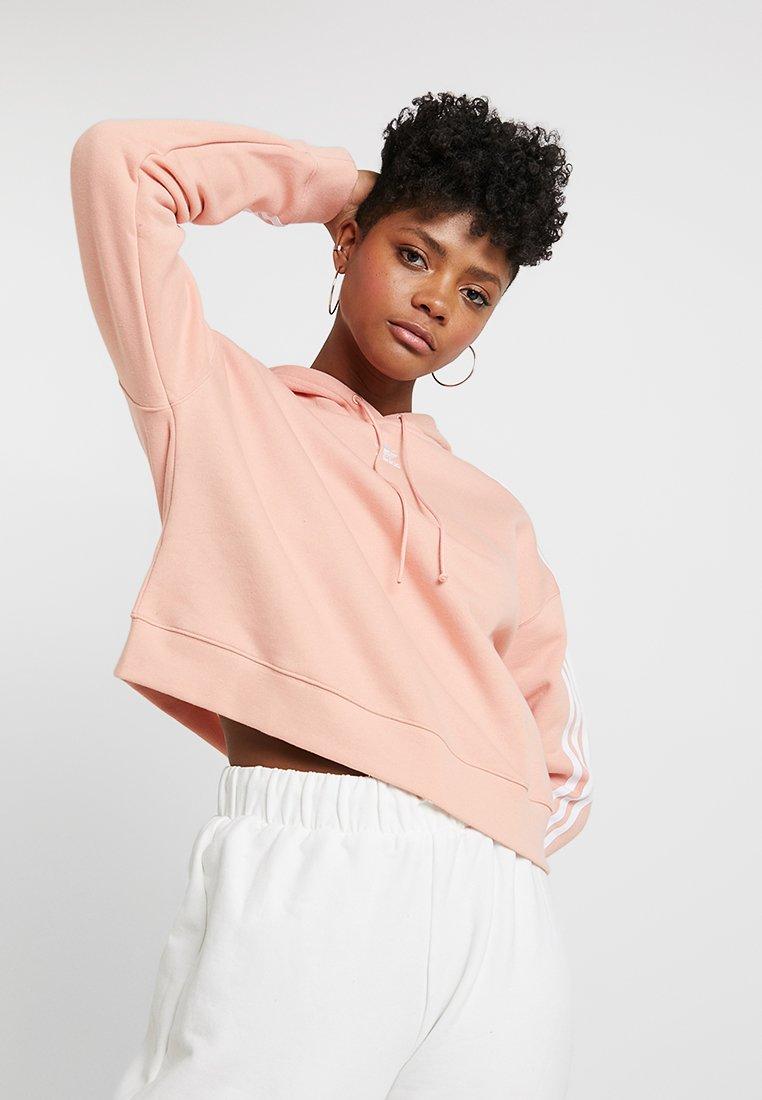 adidas Originals - CROPPED HOODIE - Mikina skapucí - dust pink