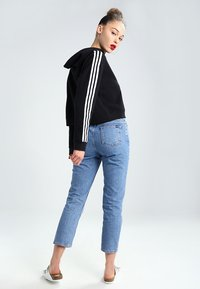 adidas Originals - CROPPED HOODIE - Hoodie - black - 2