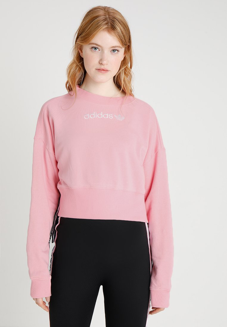 adidas Originals - CREW NECK  - Sudadera - light pink