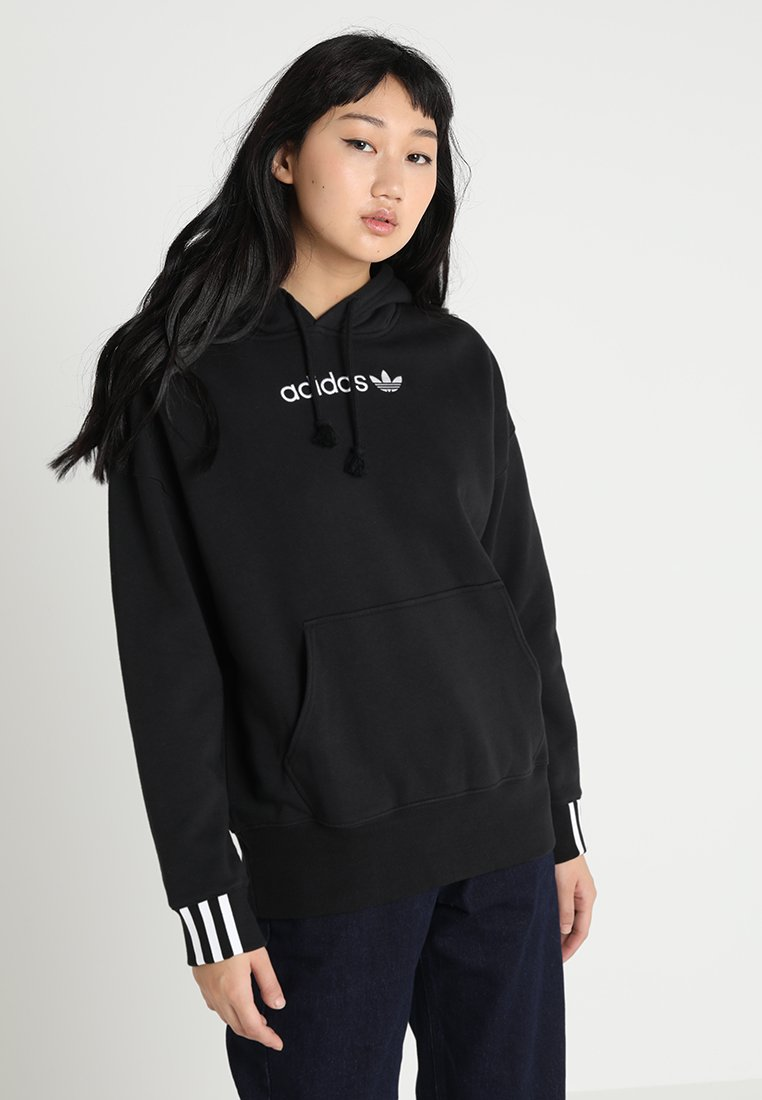 adidas Originals - COEEZE HOODIE - Hættetrøjer - black