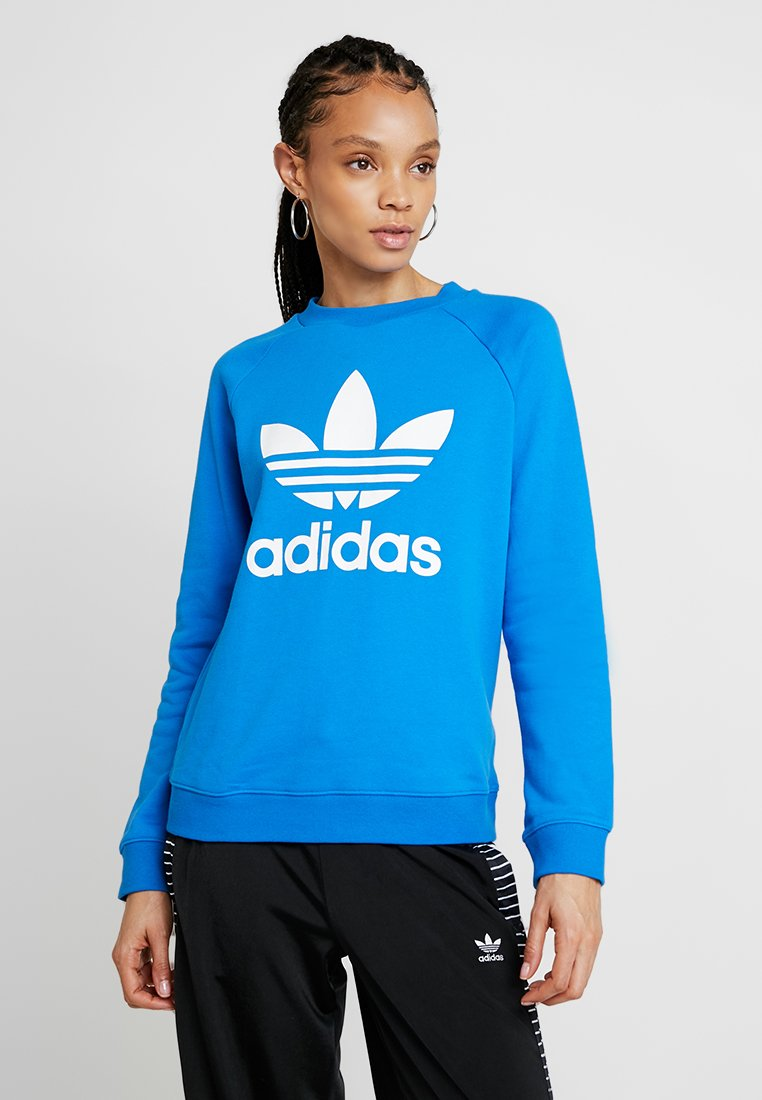 adidas Originals - CREW - Sweatshirt - bluebird