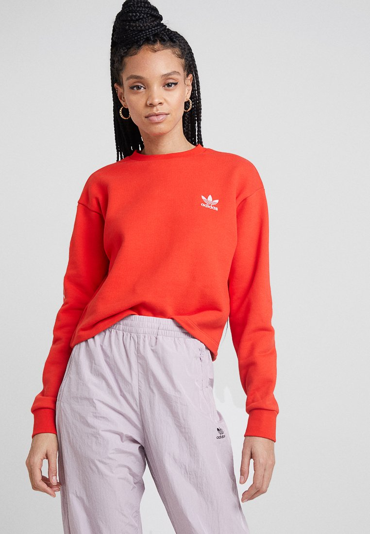 adidas Originals - CREW - Sweater - active red