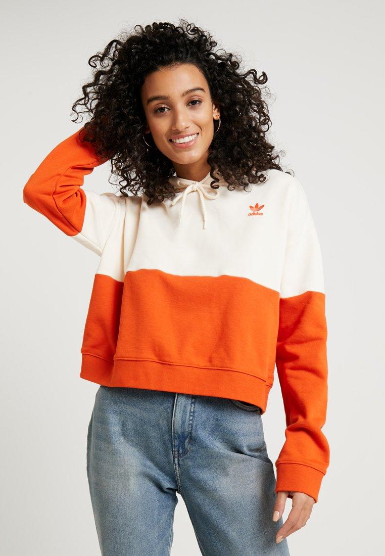 adidas Originals - HOODIE - Hoodie - craft orange