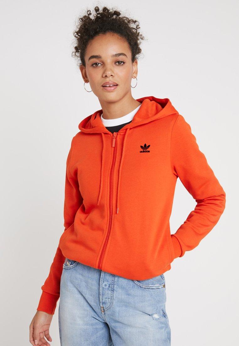 adidas Originals - ZIP HOODIE - Zip-up hoodie - craft orange