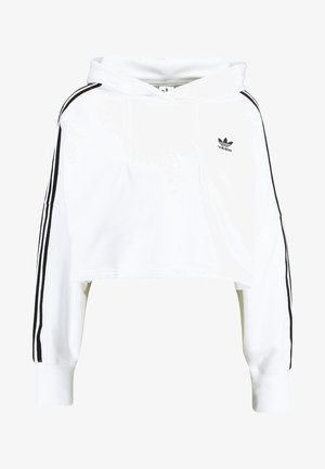 CROPPED HOOD - Sweat à capuche - white