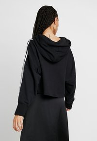 adidas Originals - CROPPED HOOD - Kapuzenpullover - black - 2
