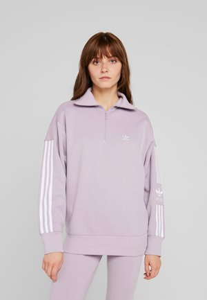ADICOLOR HALF-ZIP PULLOVER - Sweatshirt - soft vision