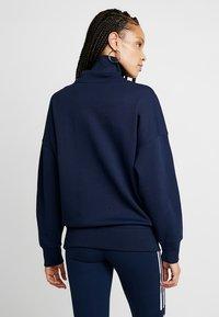 adidas Originals - ADICOLOR HALF-ZIP PULLOVER - Sweatshirt - collegiate navy - 2