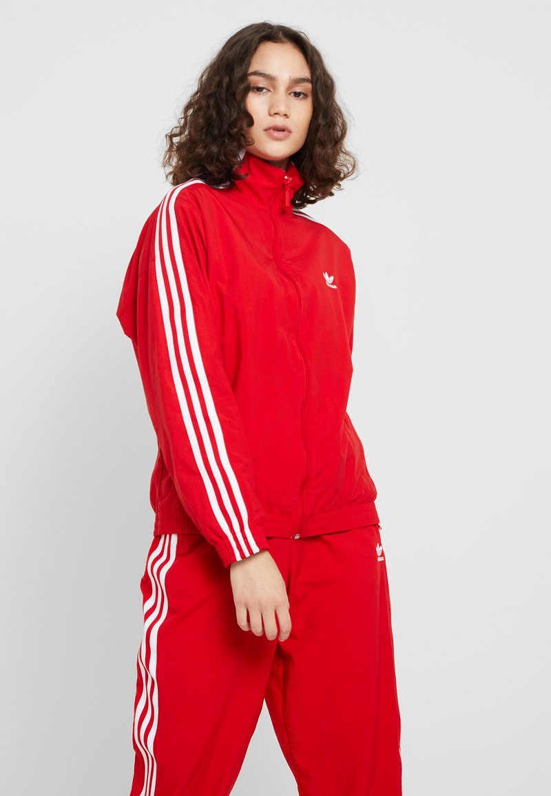 adidas Originals - LOCK UP - Summer jacket - scarlet