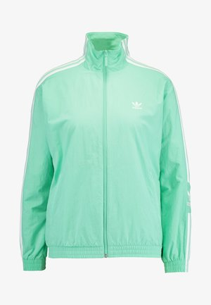 ADICOLOR SPORT INSPIRED NYLON JACKET - Wiatrówka - prism mint/white