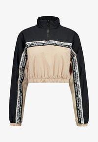 adidas Originals - CROPPED - T-shirt à manches longues - ash pearl/black - 4