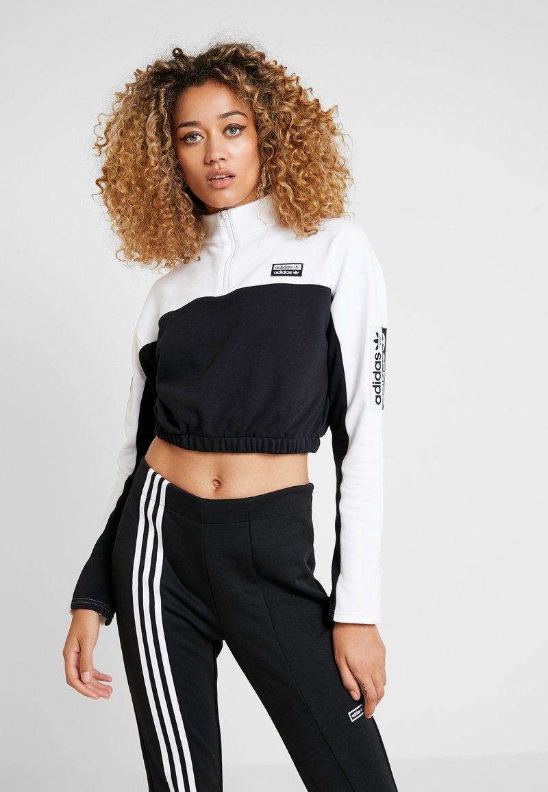adidas Originals - Mikina - white/black