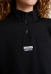 adidas Originals - HALF ZIP - Sweater - black - 6