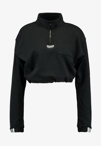 adidas Originals - HALF ZIP - Sweater - black - 5