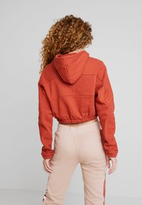 adidas Originals - HOODIE CROPPED - Hoodie - shift orange - 2