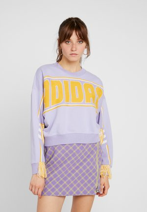 CROPPED PULLOVER - Sweatshirt - dust purple