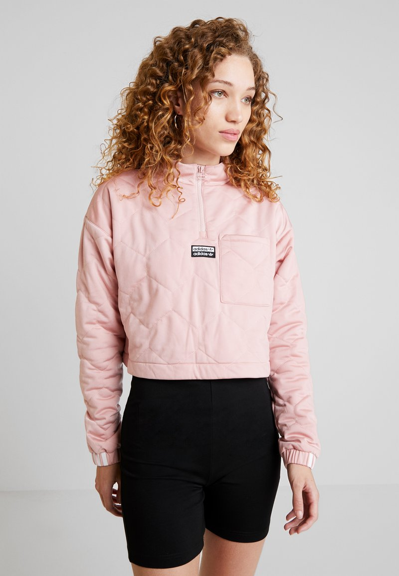 adidas Originals - CROPPED - Sweatshirt - pink spirit