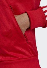 adidas Originals - SST TRACK TOP - Bomber Jacket - red - 4