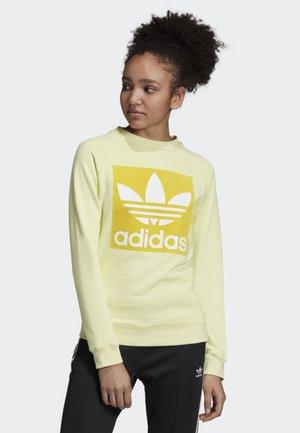 TREFOIL SWEATSHIRT - Sweatshirt - yellow