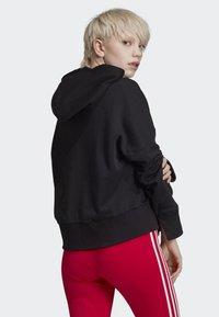 adidas Originals - CROPPED HOODIE - Sweatshirt - black - 1