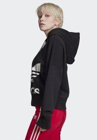 adidas Originals - CROPPED HOODIE - Sweatshirt - black - 2