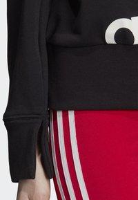 adidas Originals - CROPPED HOODIE - Sweatshirt - black - 4