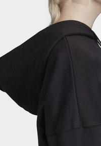 adidas Originals - CROPPED HOODIE - Sweatshirt - black - 6
