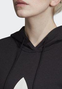 adidas Originals - CROPPED HOODIE - Sweatshirt - black - 5