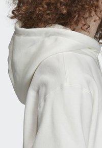 adidas Originals - FULL-ZIP HOODIE - Hoodie met rits - white - 4