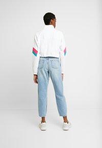 adidas Originals - BLOCKED CROP - Bluza - white - 2