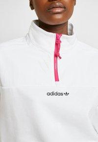adidas Originals - BLOCKED CROP - Bluza - white - 4