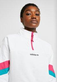 adidas Originals - BLOCKED CROP - Bluza - white - 3