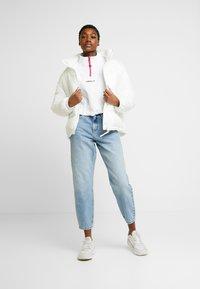 adidas Originals - BLOCKED CROP - Bluza - white - 1