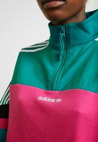 adidas Originals - BLOCKED CROP - Sweatshirt - pink - 5