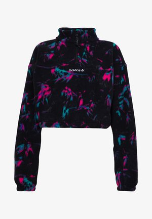 POLAR CROP - Sweat polaire - all over print