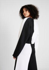 adidas Originals - Stickad tröja - black/white - 2