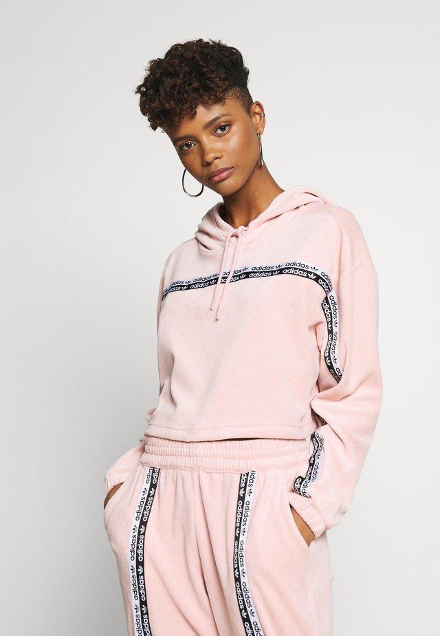 CROPPED - Bluza z kapturem - pink spirit