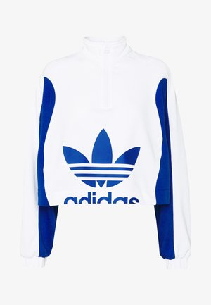 Sudadera - white/collegiate royal