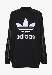 adidas Originals - BELLISTA TREFOIL LACE LONG SLEEVE PULLOVER - Sweatshirt - black - 4