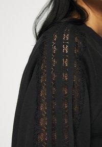 adidas Originals - BELLISTA TREFOIL LACE LONG SLEEVE PULLOVER - Sweatshirt - black - 5