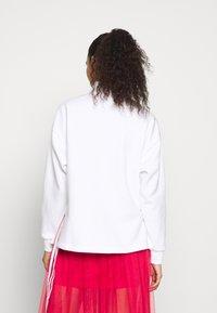 adidas Originals - TREFOIL QUARTER ZIP LONG SLEEVE PULLOVER - Bluza - white - 2