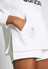 adidas Originals - HOODIE - Huppari - white - 4