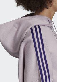 adidas Originals - CROPPED HOODIE - Hoodie - purple - 3
