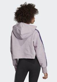 adidas Originals - CROPPED HOODIE - Hoodie - purple - 1