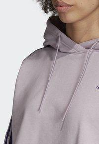 adidas Originals - CROPPED HOODIE - Hoodie - purple - 5