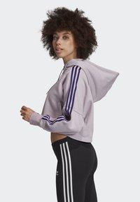 adidas Originals - CROPPED HOODIE - Hoodie - purple - 2